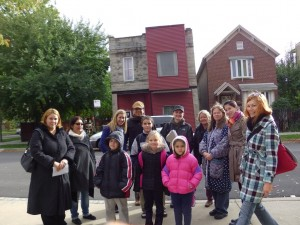 school outreach in Humboldt park in Chicago