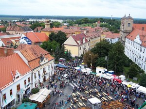 View_from_tower_of_church_st_michal_during_skalica_days
